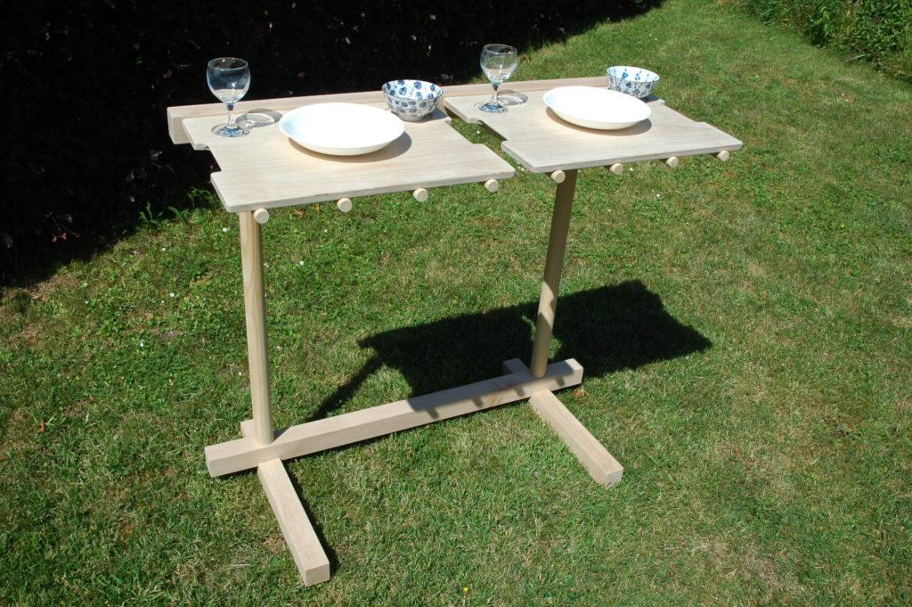 Eettafel op maat, spaghettimeubel - meubelmaker Grimbergen Meise